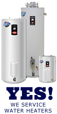 our plumbers maintain, repair, and replace water heaters in and around Bedford Texas
