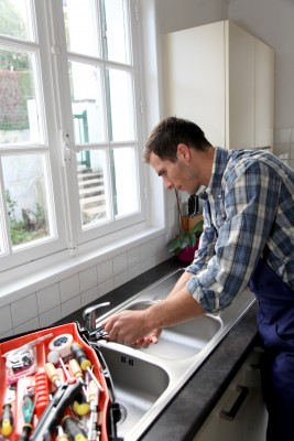 Matt is one of our Bedford plumbers and he installs a new sink